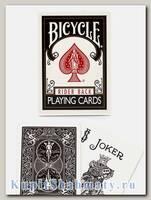 Карты «Bicycle Rider Back» чёрные вскрытая упаковка