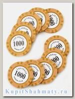Фишки для покера «Las Vegas club» номинал 1000