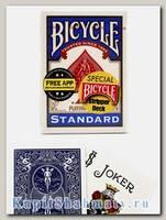 Карты для фокусов «Bicycle Stripper Deck» синие вскрытая упаковка