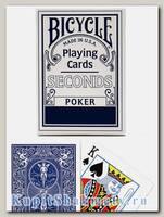 Карты «Seconds» Bicycle синие