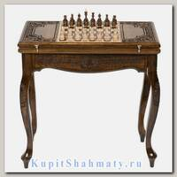 Стол шахматный + нарды «Ломберный» мастер Карен Халеян