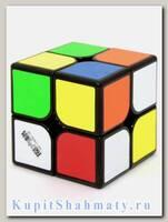 Кубик «WuXia Magnetic» QiYi 2x2 чёрный пластик