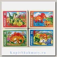 Пазл «Любимые динозавры» 54 элемента
