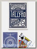 Карты «Tally-Ho» Circle Back Bicycle синие