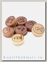 Фишки для нард «Шахматные»