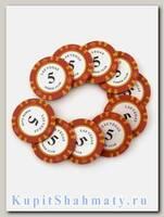 Фишки для покера «Las Vegas club» номинал 5