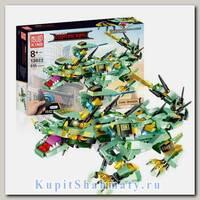 Конструктор «Зелёный дракон» модель радиоуправляемая 13022 Mould King