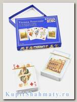 Набор коллекционных игральных карт «Венский сувенир» Piatnik вскрытая упаковка