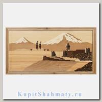 Нарды «Церковь у Арарата» мастер Арташ Зейналян