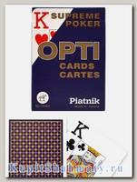 Карты покерные «Opti» Piatnik увеличенный индекс