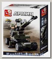 Конструктор «Армия. Артиллерия 8 в 1» (94 детали, 1 фигурка)