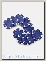 Фишки для покера «Hasard» без номинала синие
