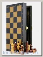 Нарды + шахматы + шашки «Обиходные-золото» тонированные 3 в 1