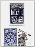 Карты «Tally-Ho» Fan Back Bicycle синие