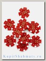 Фишки для покера «Slash» номинал 100