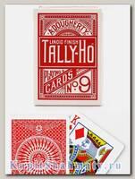 Карты «Tally-Ho» Circle Back Bicycle красные