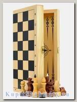 Нарды + шахматы + шашки «Обиходные» 3 в 1