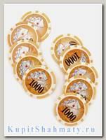 Фишки для покера «Royal Nu» номинал 1000