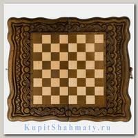 Нарды + шахматы + шашки «Бриз» мастер Карен Халеян 3 в 1 30 см