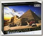 Пазл «Пирамиды и верблюды» 1000 элементов