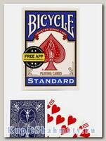 Карты для фокусов «Bicycle Standard Magic props» синие вскрытая упаковка