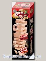Дженга «Бам-Бум mini»  54 бруска