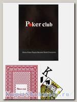 Карты «Poker club» красные вскрытая упаковка
