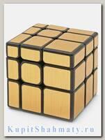 Кубик зеркальный «Mirror S» золотой