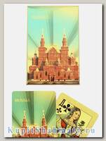 Карты игральные «Россия золотая II» сокращенная колода (36 карт) вскрытая упаковка