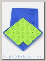 Головоломка «Пятнашки» синяя коробка