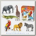 Пазл набор  «Африканские животные» от 2 до 6 MAXI элементов