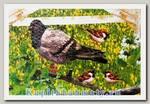 Пазл пластиковый «Увлекательный мир животных» 24 элемента