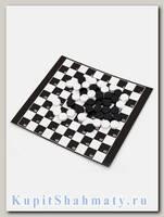Игра 3 в 1 ( шахматы + шашки + нарды )