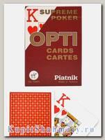 Карты покерные «Opti» Piatnik увеличенный индекс вскрытая упаковка