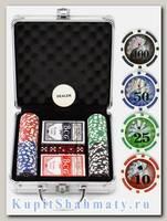 Покерный набор «NUTS» 100 фишек