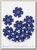 Фишки для покера «Slash» номинал - 25