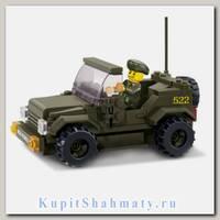 Конструктор «Сухопутные войска: Джип» (121 деталь)