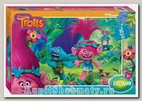 Пазл   «DreamWorks Trolls. Глиттер» 35 MAXI элемента