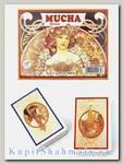 Набор коллекционных игральных карт «Mucha dreams» Piatnik вскрытая упаковка
