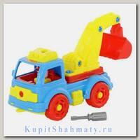 Конструктор «Автомобиль-экскаватор»