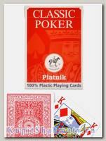 Карты покерные «Классические» 100% пластик Piatnik  вскрытая упаковка