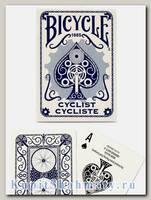 Карты «Bicycle Cyclist» синие вскрытая упаковка