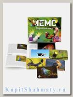 Игра настольная «Мемо. Пернатый мир»