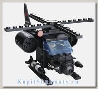 Конструктор «Армия. Вертолет 8 в 1» (93 детали, 1 фигурка)