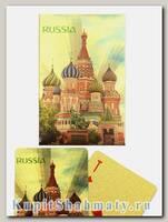Карты игральные «Россия золотая» сокращенная колода (36 карт) вскрытая упаковка
