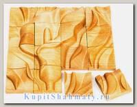 Деревянный пазл с 3D эффектом «Калла» 16 элементов