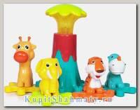 Конструктор - игра «Зоопарк»  со звуковыми и световыми эффектами
