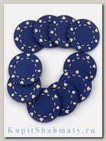 Фишки для покера «Lear» синие