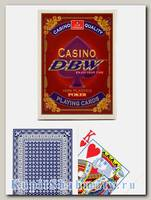 Карты «Casino DBW» синие