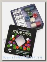 Покерный набор «Holdem» 100 фишек без номинала